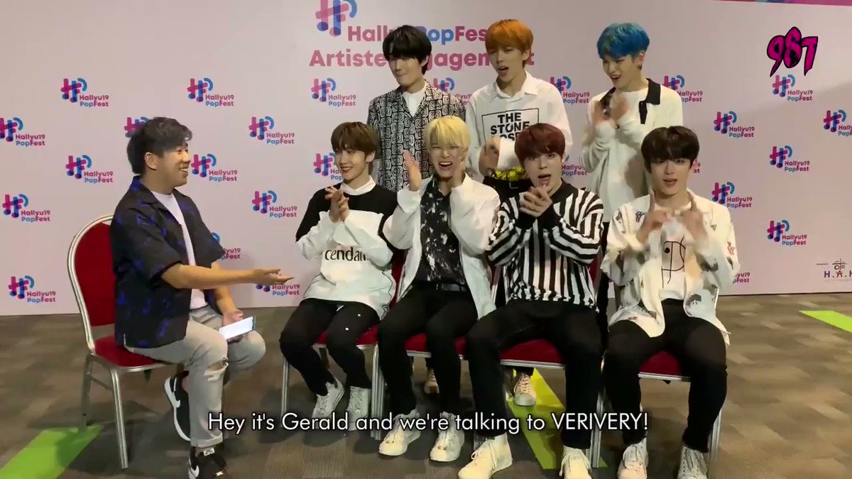 The boys of @the_verivery were here in Singapore just a few weeks ago for @HallyuPopFest! We played a game and found out who eats the fastest, aegyos the best, is the grumpiest and a whole lot more! Click here to watch the fill vid: facebook.com/143098527028/p…