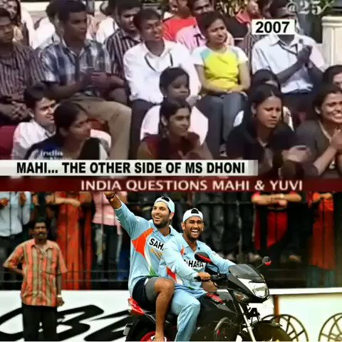 This Pair Has Separate Fan Base...Indian Cricket will Always Miss This #yuvi#YuvrajSingh #Dhoni