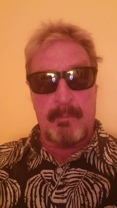 McAfee Vows To Expose Dozens of Corrupt US Politicians & CIA Agents UyH5z6tHcTBy4KyK?format=jpg&name=small