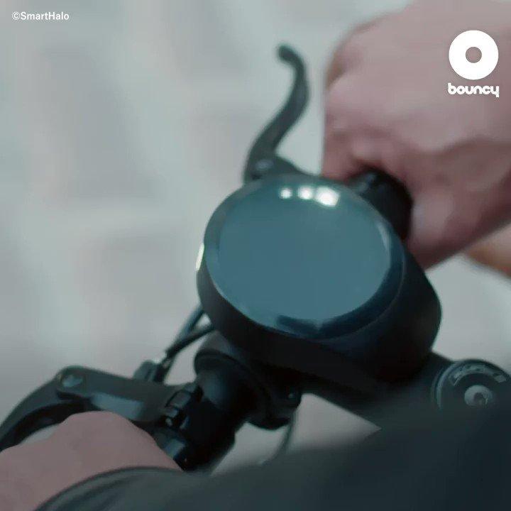 自転車用ガジェットが天気予報も教えてくれるなんて😍 by @SmartHaloBike 価格や入手方法はこちら👉#サイクリング #自転車 #チャリ通