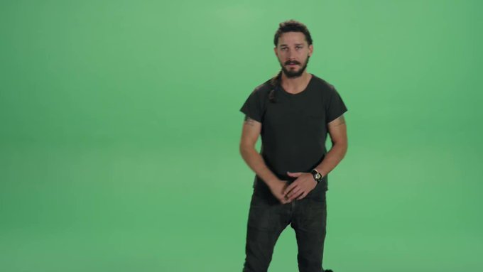 Just do it and wish Shia LaBeouf a very happy birthday!