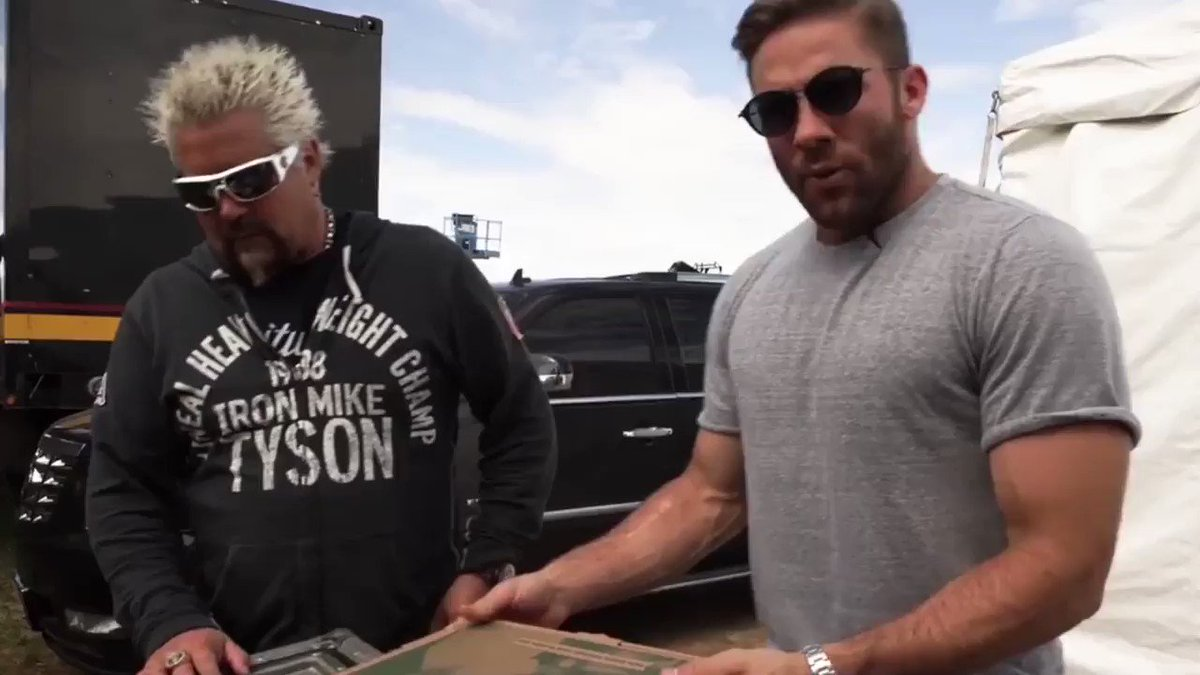 2 Years since the premiere of One Nibble with @GuyFieri Take Notes @StoolPresidente... #TymeMachine