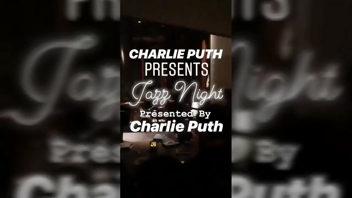 """CP FAMILY💡 - @charlieputh FAM, watch a new video of the cool """"Jazz Night"""" Party! Presented by Charlie Puth! 💚   Subscribe for more! 🔔  #WeLoveYouCharlie 💚 #CPF #CP3IsComing 🔥🔥🔥🔥🔥"""