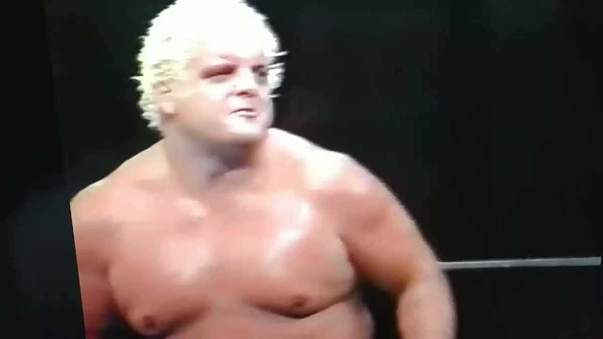Dusty putting a whoopin' on Hogan & Hansen as only he could.   Easily one of my favorite wrestling clips ever.
