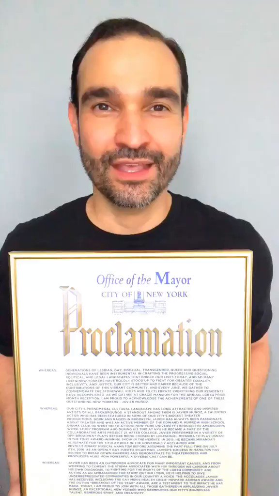 Very exciting message from @RED ambassador @JMunozActor! #PRIDE #JaviDay #endAIDS bit.ly/redpride