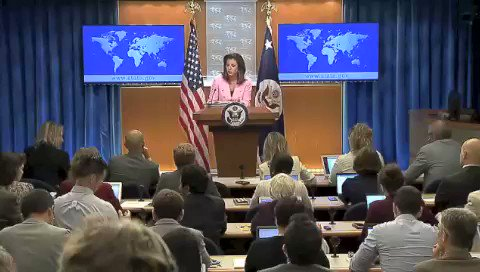 سخنگوی وزارت خارجه آمریکا: #تهدید، #باجگیری هسته ای و ایجاد وحشت برای سایر کشورها از رفتارهای معمول #رژیم انقلابی در تهران است https://t.co/tB0gnHLNYv