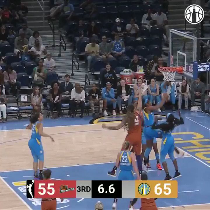 I know this is from two games ago but there's always a time and place to appreciate Gabby Williams' speed and athleticism