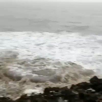 Start Effect At JAFARABAD#CycloneVayu