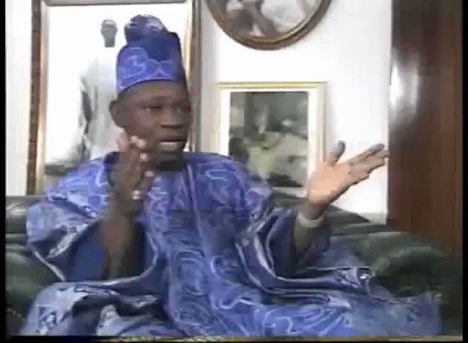 RT @Teejazzy1234: A rare clip of Basorun MKO Abiola. Did Burnaboy take a cue from this? #DemocracyDay https://t.co/avsqxlnUoO