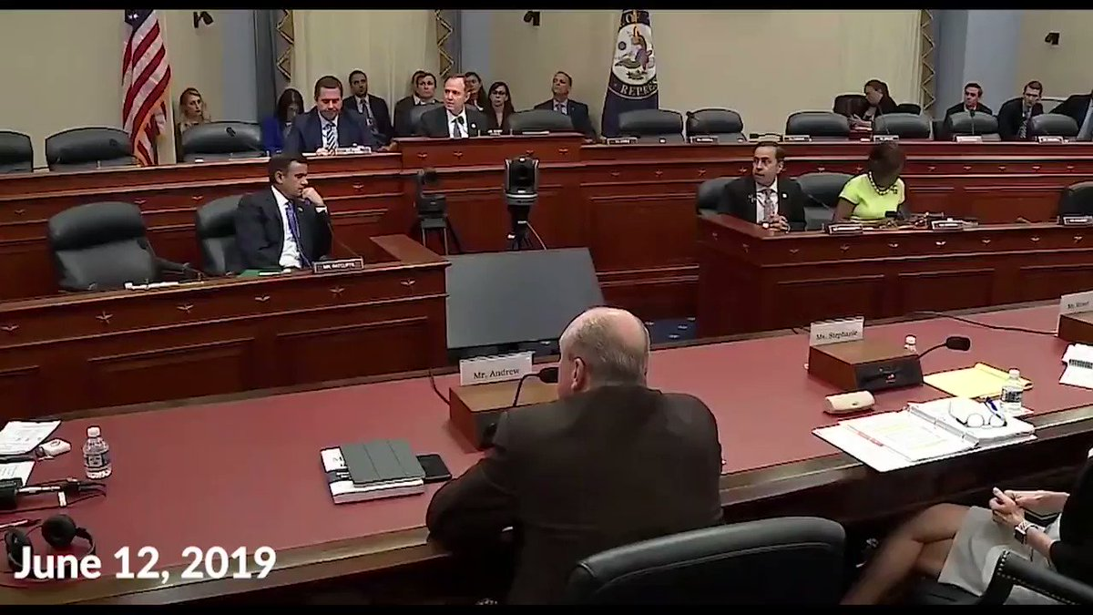 .@RepAdamSchiff didn't believe me today when I told him Comey circumvented Congress by opening an investigation into the Trump campaign. Maybe he'll change his mind once he hears it straight from Comey's mouth? WATCH ⬇️