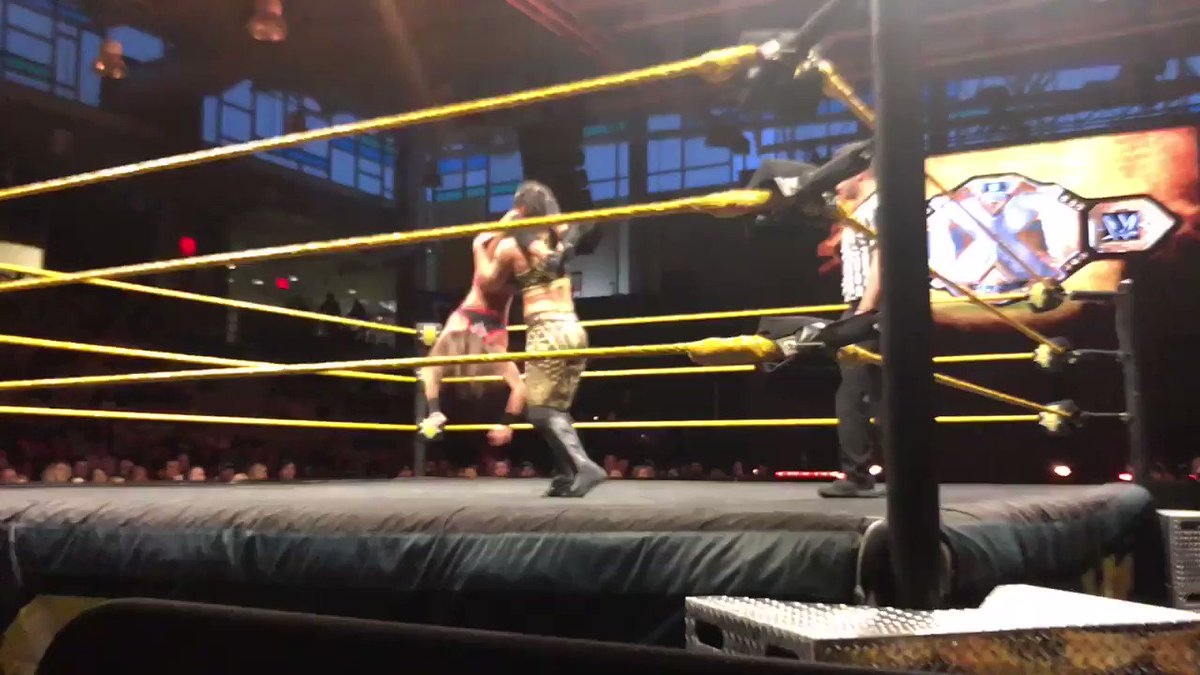 Favorite matches that night (5/18/19) not taped for tv were @RealKeithLee vs PunishmentMartinez (DamienPriest),   @KacyCatanzaro vs @QoSBaszler, and   @VelveteenWWE, @AdamColePro, @SuperKingofBros 3 way match   #nxtbelair #Nxt #WWE #WrestlingWednesday #WrestlingCommunity