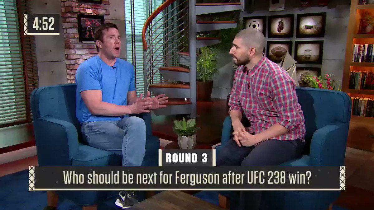 48 hours from a fight. Still have time to talk about Tony Ferguson. And I have two words for Tony: Justin. Gaethje.