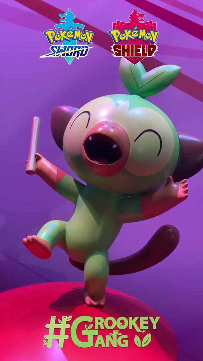 Pokemon On Twitter Grookey Gang Grookey Gang Grookeygang