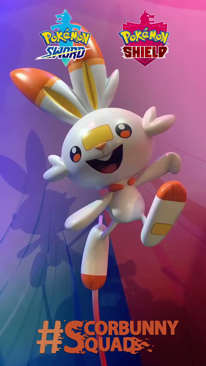 Time to get fired up, #ScorbunnySquad. 🔥 Tell us why youre choosing Scorbunny in #PokemonSwordShield!