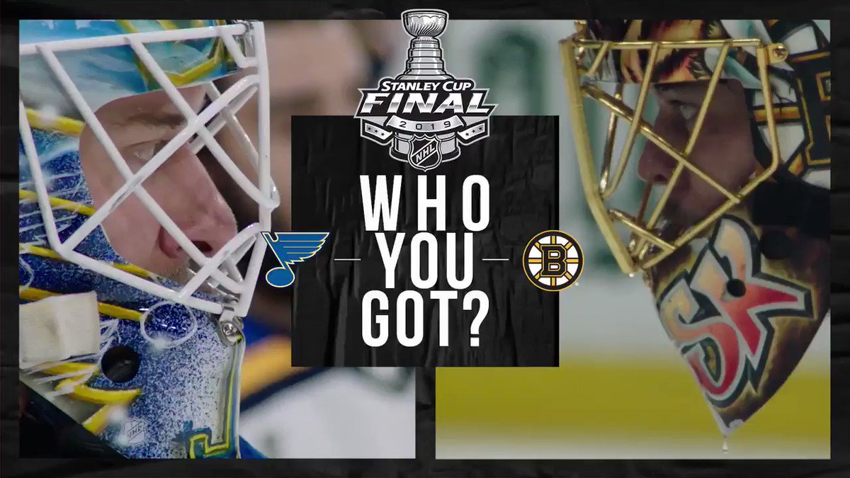 TAKE YOUR PICK  @StLouisBlues vs. @NHLBruins #Game7 at 8:00 ET on @nbc and @Sportsnet #StanleyCup