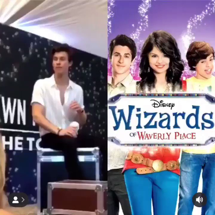 Shawn Mendes says his favourite tv show growing up was Wizards of Waverly Place and asks not to tell Selena that