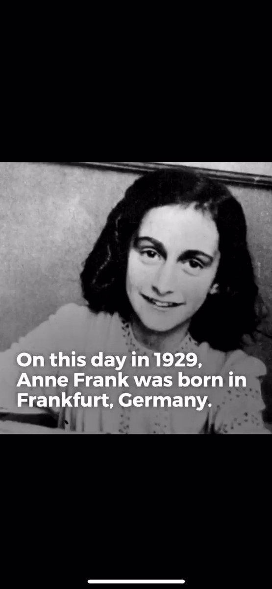 Anne Frank would have turn 90 years old today. In a recent survey, 41% of American adults did not know about Auschwitz. 1/3 of Americans don't believe that 6 million Jews were killed in the Holocaust. This video was a part of @lifetimetv #shedidthat series I wrote last year .
