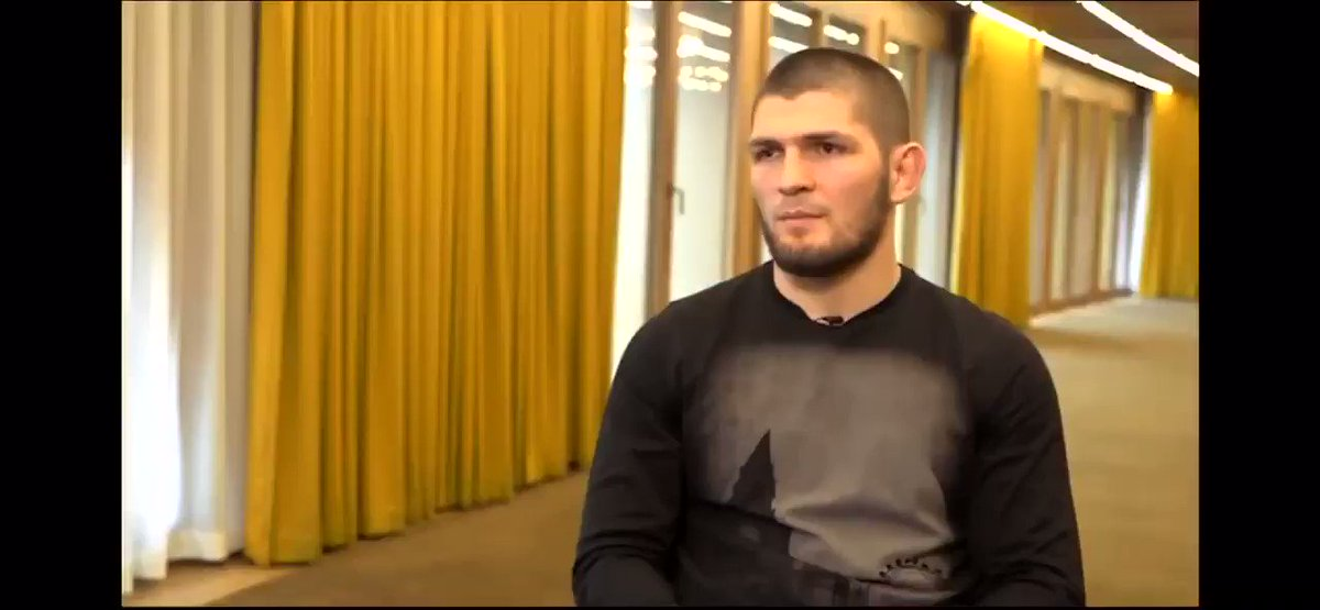 @TeamKhabib Keeps the promise! @TonyFergusonXT is next and @TheNotoriousMMA has to deserve it by winning top contenders, #helwanishow #ufc239 #CyborgNation @bokamotoESPN @tmz #bellator222 #PFL4 HERE IS THE INTERVIEW 🔥