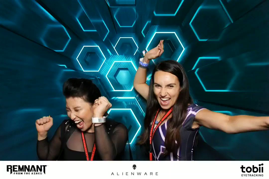 There is absolutely zero excitement here - I don't know what you are talking about 😉👽 #E32019  @alienware #alienwarehive @erikaishii