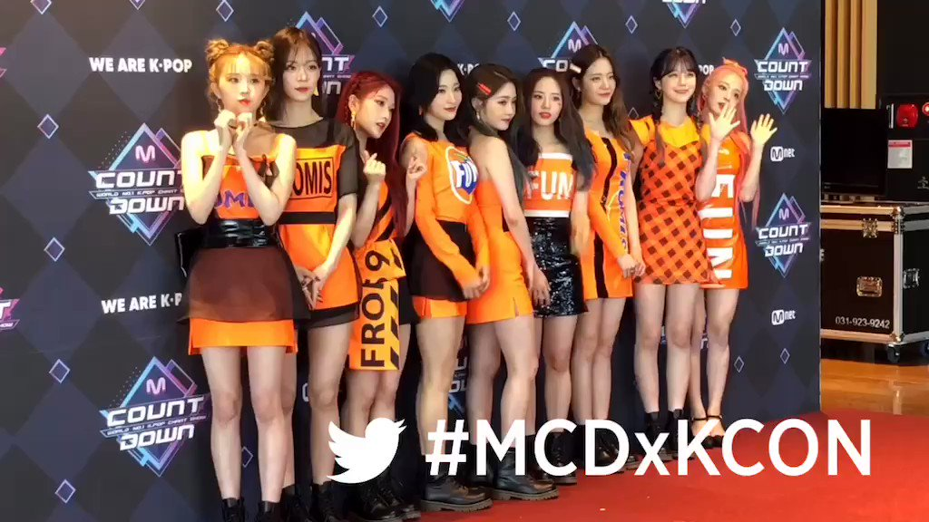 Can't wait to see #fromis_9 at #KCON19NY !  #MarketerK #MCDxKCON #KCON2019 #MCOUNTDOWN @realfromis_9