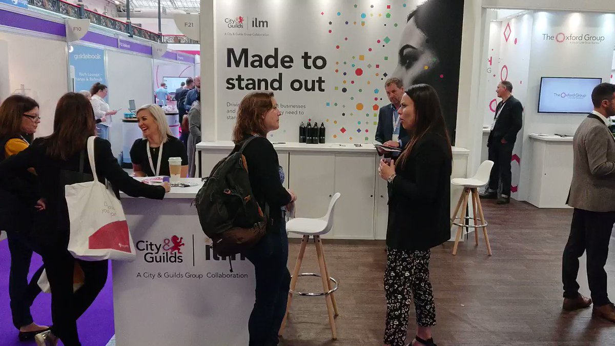 Find out latest regarding in-house accreditation via stand F20. #FestivalofWork @CIPD @CityGuildsGroup @cityandguilds @ILM_UK @samanthaliz28