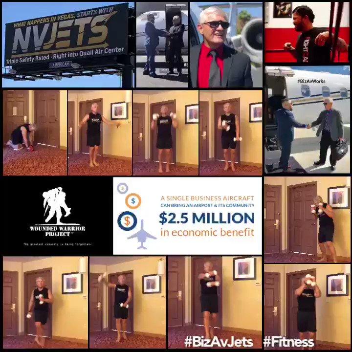 #BizAvJets #Fitness with #Purpose #Support http://www.WorkoutsForWarriors.org @wwp  http://www.CorpAngelNetwork.org @CorpAngelNet  #Strength #StrengthTraining  #BizAvJets Travels @nvjets  #Model #Photo #Video Experience with #NVJETS #BizAvJets #Trains with @BalgameJonathan  #SeniorModel