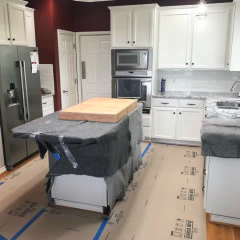Image for the Tweet beginning: When remodeling a kitchen, a