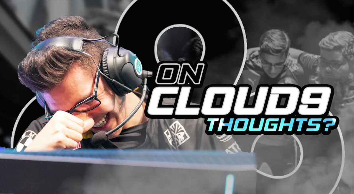 Week 2 of the #LCS was marked by #C9LACS' win on stage, Golden Gamers sneaking into our pre-game meeting and #C9LoL not letting @Rush0406 win on Saturday 😂  Watch now: On Cloud9 | S3E2: Thoughts? 📺 http://youtu.be/tFrK3dyjt7A