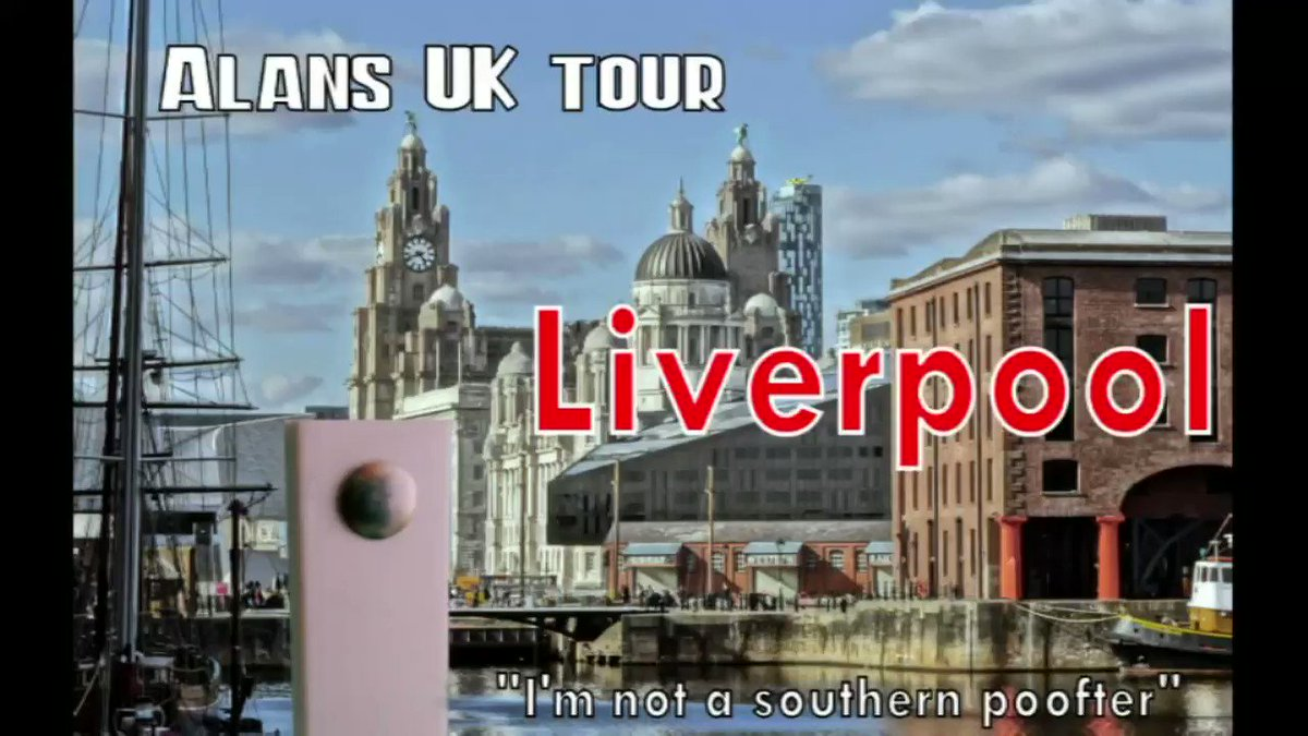 "Alans UK Tour - Liverpool - ""I'm not a southern poofter""  #travel #uktour #stopmotion #animation #alansuktour #staycation #vacation #travellog #BUCKETLIST #stew 2"