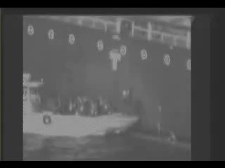 Just in: Pentagon video of what it says is an Iranian boat removing an unexploded mine from one of the attacked oil tankers in the Gulf of Oman.