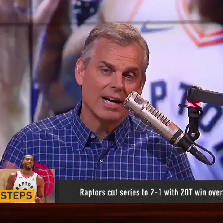 """""""I've seen enough of Toronto. This act is gonna be so bad if they get into the finals. Even without KD...[the Warriors] sweep the Raptors."""""""