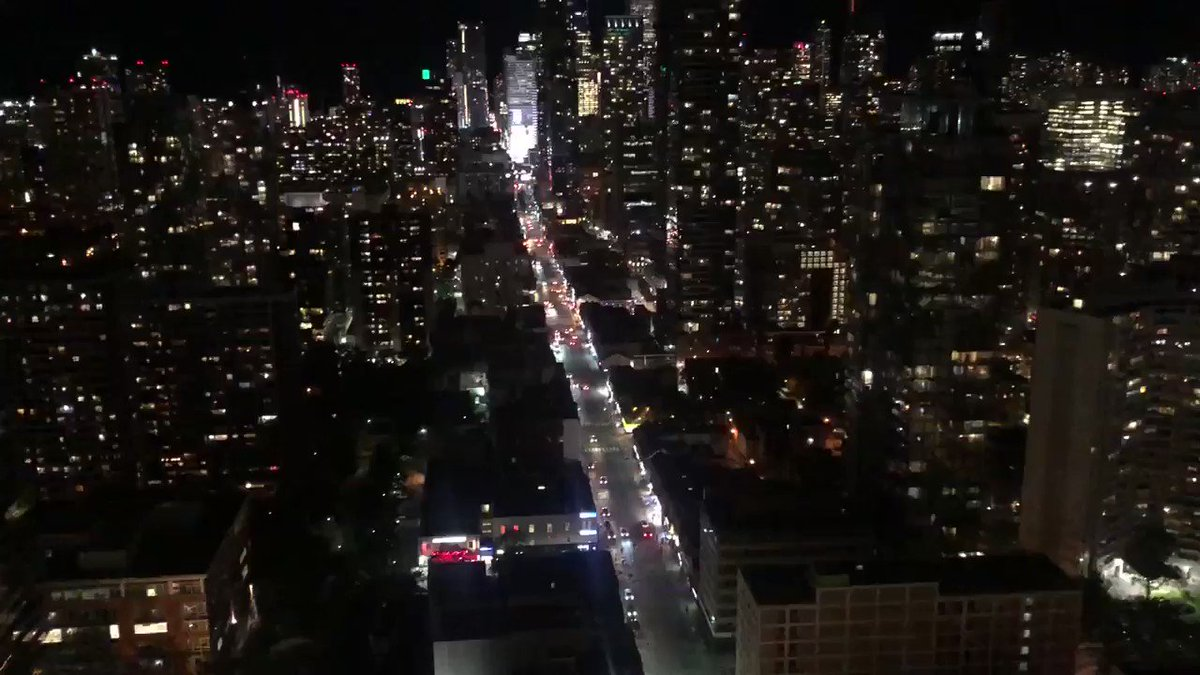 This is incredible. 37 floors up and we can hear the entire city of #Toronto erupting in celebration after the @Raptors won the championship. (Sound on) #WeTheNorh