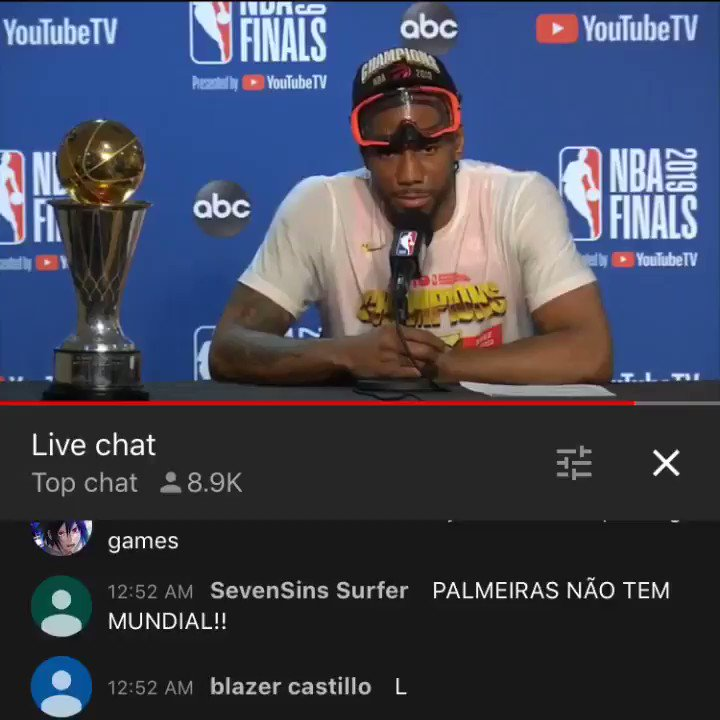 Nothing describes Kawhi better than him leaving the MVP trophy at the podium like it's a bottle of water.