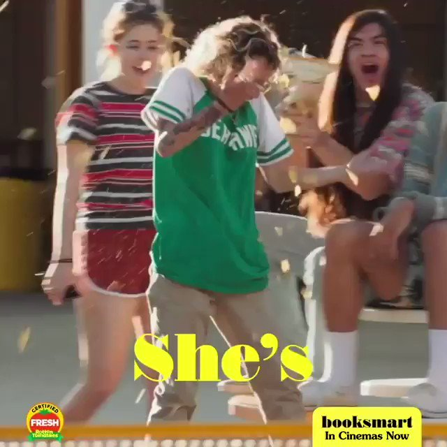 Amy has no game but we still love her. #Booksmart