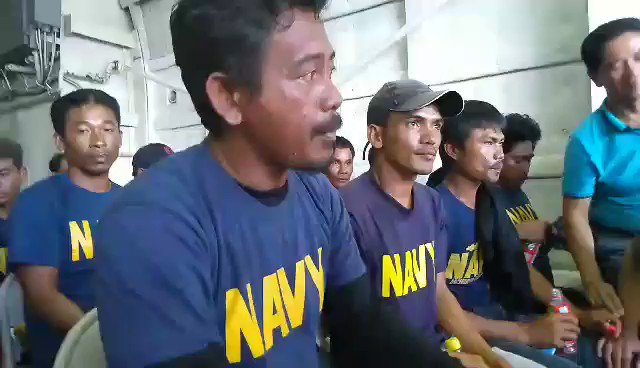 """""""Sinadya yun. Eh di kung hindi ano yun, dapat tutulungan kami, pagkakita sa aming lubog.""""    WATCH: Junel Insigne, Captain of the boat that sank in the vicinity of Reed Bank in the West Philippine Sea, narrates the collision with the Chinese vessel. 