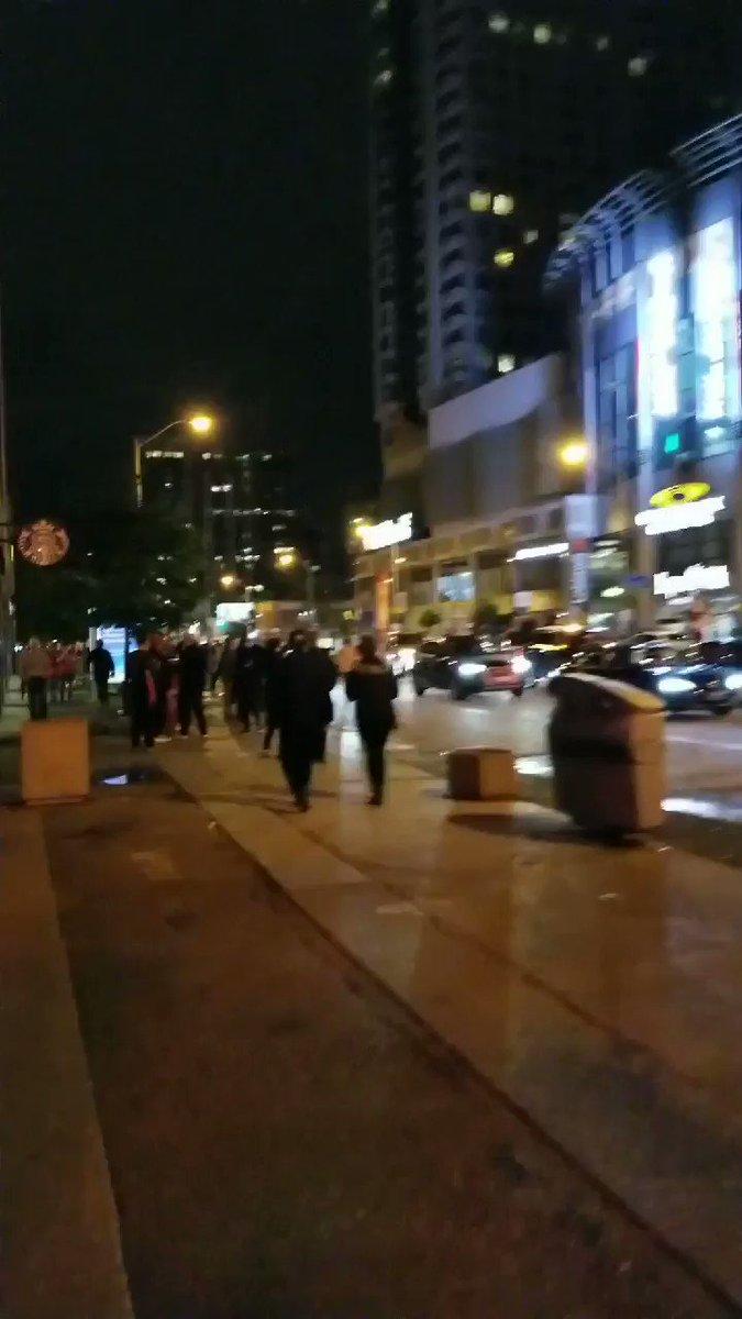 #Raptors at 1am #yonge street #Toronto #TorontoRaptors