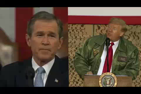 Drumbeat of war with #Iran with a familiar sound The #Trump's administration is preparing the ground for direct confrontation with Iran which follows a familiar pattern before the United States under President #GeorgeWBush, invaded #Iraq in 2003 with false pretexts.