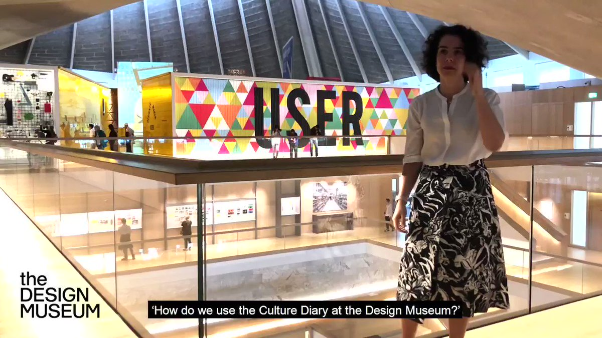 Learn how the Design Museum, the world's leading design museum and European Museum of the Year 2018, uses #TheCultureDiary as a useful tool and resource, as explained by Director Alice Black in this vox pop Sign up here: bit.ly/RegisterTCD #cultureisGREAT #creativityisGREAT