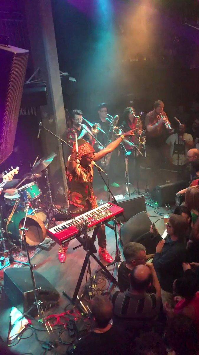 We're back in California next week to kick off the summer! 20 years of Antibalas continues!  6/18 Petaluma, CA - @lagunitasbeer Amphitheater 6/19 Chico, CA - Big Room at @SierraNevada  6/21 San Diego, CA - @BellyUpMusic  6/22 San Luis Obispo - @liveoakfest   🎥: @lebfunk (IG)