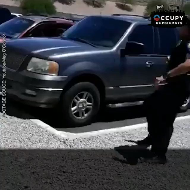 Phoenix cops held this black family at gunpoint and threaten to shoot the black mother dead all because her 4-year-old baby walked out of a store with a Barbie doll without her noticing. THEY THREATEN TO SHOOT HER IN THE HEAD!!! THIS IS WHY WE KNEEL! RETWEET THIS 💔