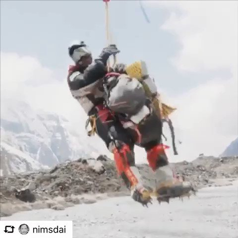 A short video of the long line rescue from Annapurna. #ProjectPossible