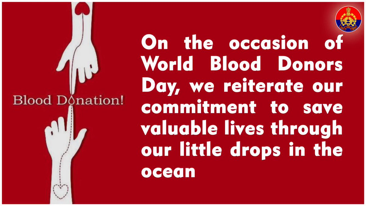 Don't shed blood ! Donate it !!  We salute the saviours of life on the occasion of #WorldBloodDonorDay