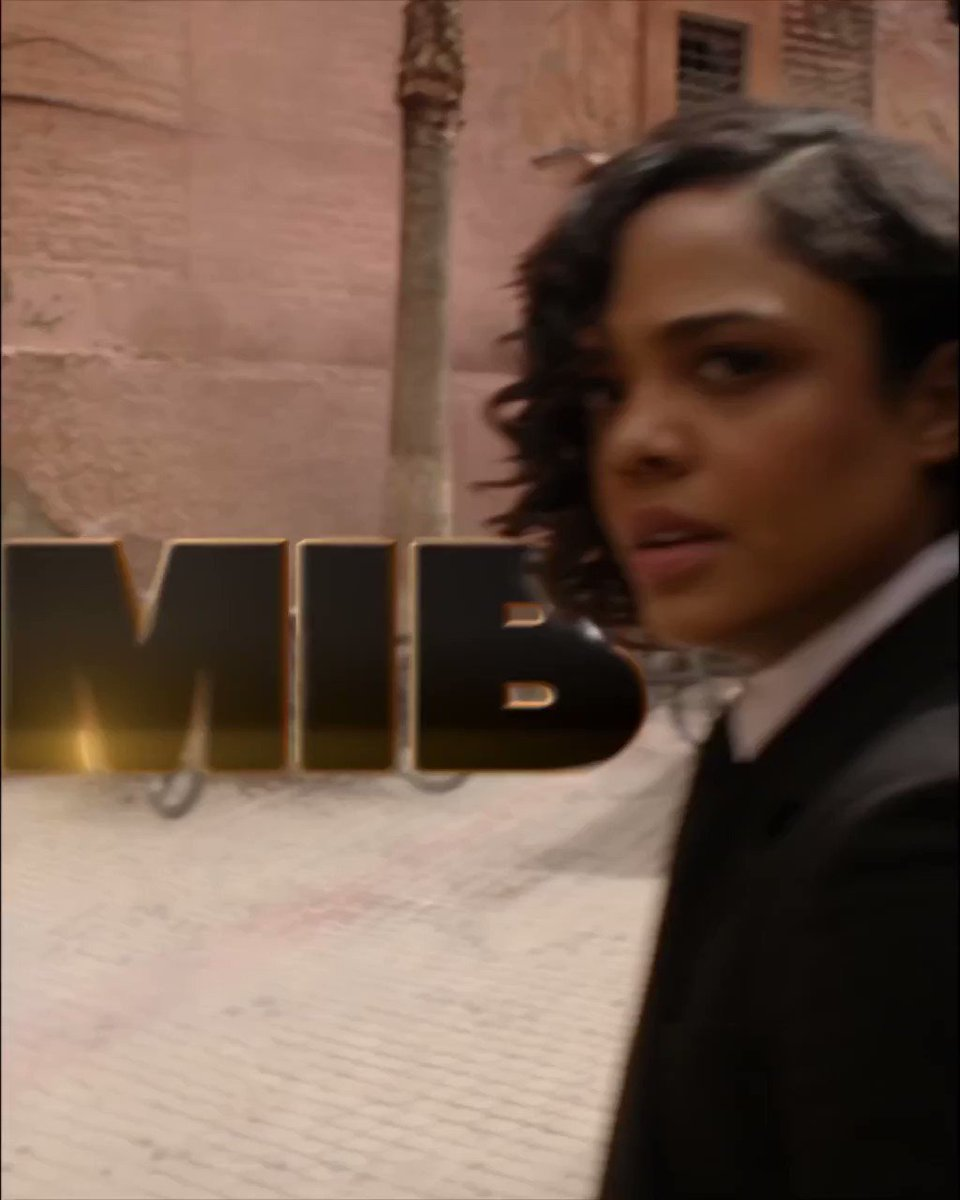 Agents assemble! 🕶️ Help @TessaThompson_x and I save the world (again). 🤙 See #MIB in theaters everywhere now!