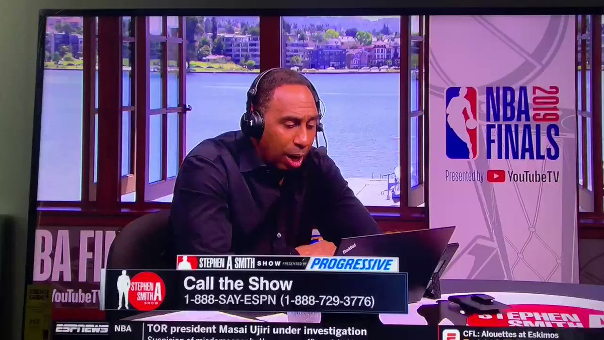 Somebody called Stephen A Smith while they was off the WEED 😭