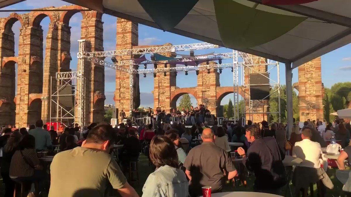 #Mérida vuelve a vivir un #Gastrosensaciones en el acueducto de Los Milagros #MeridaEnamora #Turismo #Merida #Patrimonio #Cultura #musica #Gastronomia