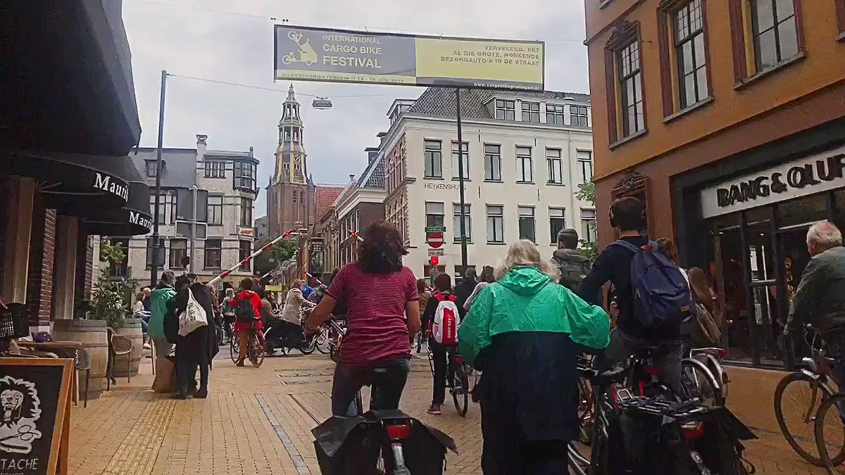 When Max van den Berg proposed a plan in 1977 that made the centre of Groningen virtually impenetrable by car, his party was the subject of outrage, protests, and death threats.  Now not a single resident misses the days when cars choked their streets.  Fortune favours the brave.