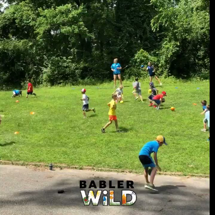 Check out how we made Babler State Park into an outdoor arcade with BablerWiLD this week! #communityedsummer