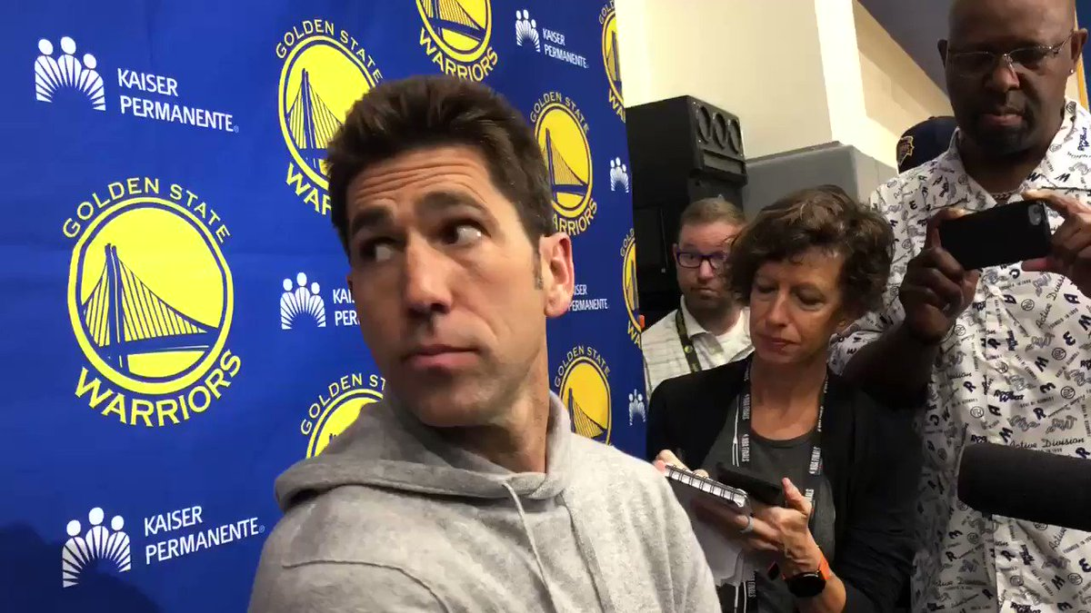 Bob Myers on the free agency future of Kevin Durant and Klay Thompson