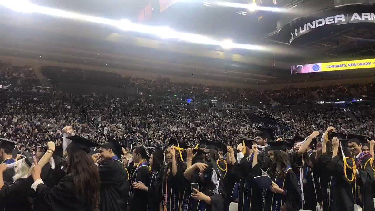 Congratulations, Class of 2019! #UCLA2019 #UCLA100