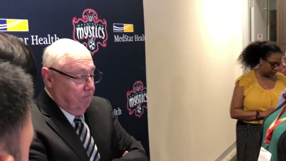 """""""We gave one tonight...can't shoot like we did, it's hard to win a game shooting 30 percent."""" #Mystics Coach Mike Thibault on tonight's disappointing loss to the Seattle Storm. #MysticsStorm #TogetherDC"""